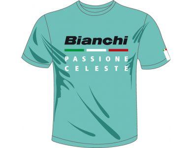 Bianchi T-Shirt Passione Celeste