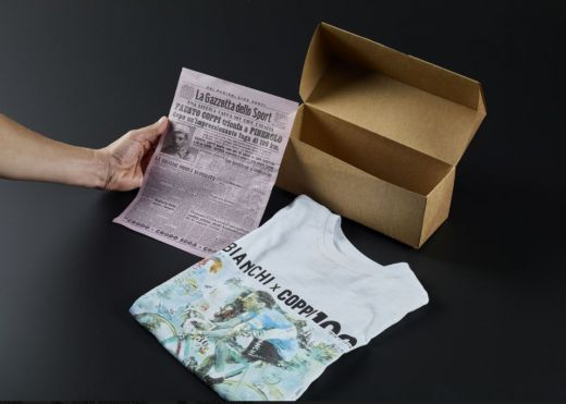 Bianchi T-Shirt - Fausto Coppi 100