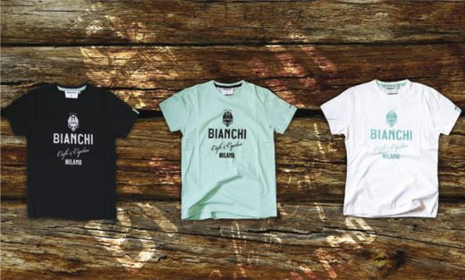 Bianchi Cafe & Cycles - T-Shirt