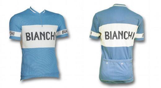Bianchi Classic - Kurzarmtrikot hellblau