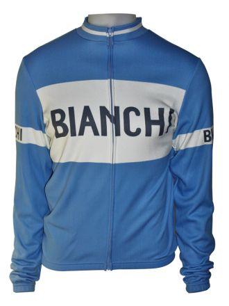 Bianchi Classic - Langarmtrikot blau