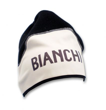 Bianchi Classic - Chapeau d'hiver blanc/noir
