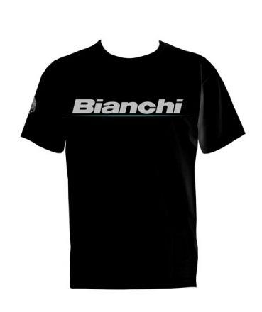 Bianchi Freizeit T-Shirt - schwarz