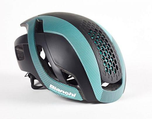 Bianchi Helm - Bullet schwarz/celeste
