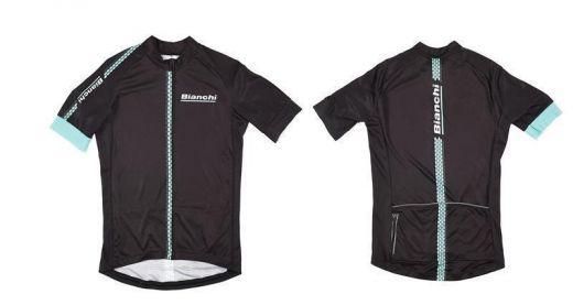 Bianchi Hexagon  - Jersey - noir