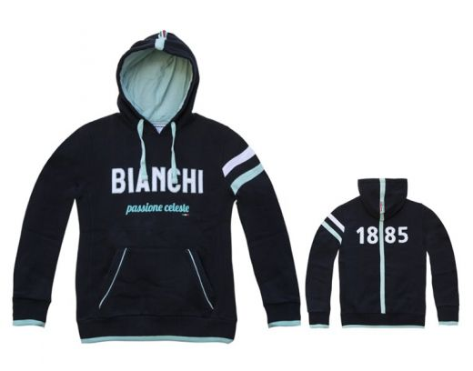 Bianchi Hoodie 1885 - blue navy