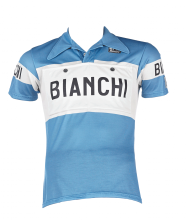 Bianchi L'Eroica - Maillot Manches Courtes Jersey Merino