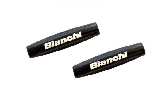Bianchi Marco Protector Tapas De Tubo - negro/blanco