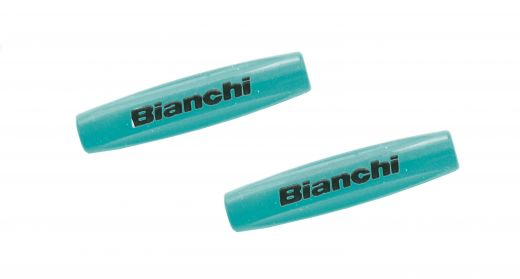 Bianchi Frame Guards Tube Tops 10 pcs. celeste/black