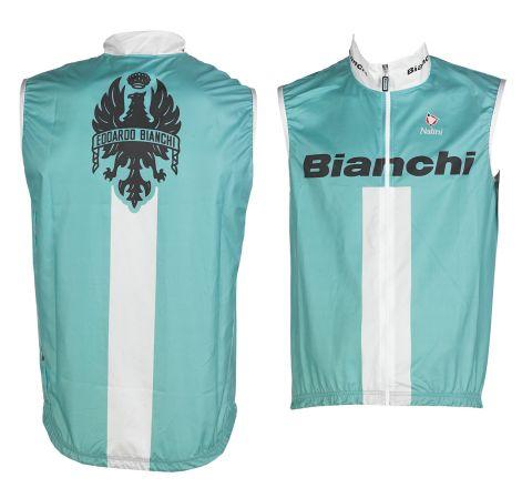Bianchi Reparto Corse - Chaqueta De Viento Sin Mangas - celeste