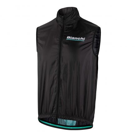 Bianchi Reparto Corse - Sleevless Wind Jacket - negro 2019