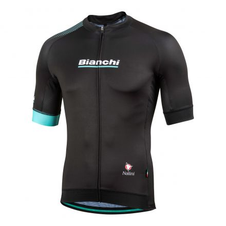 Bianchi Reparto Corse - Short Sleeve Jersey - noir 2019