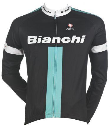 Bianchi Reparto Corse - Maillot Manches Longues - noir