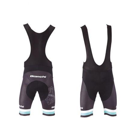 Bianchi Sport Line Man - krótkie spodnie rowerowe - czarne