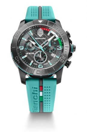 Bianchi Swiss Made - Chrono 43mm - celeste
