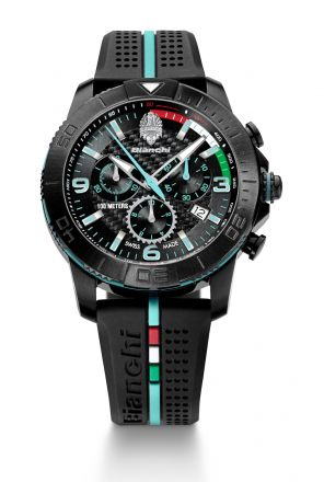 Bianchi Swiss Made - Chrono 43mm - negro