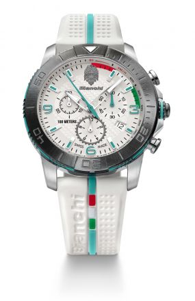 Bianchi Swiss Made - Chrono 43mm - blanco