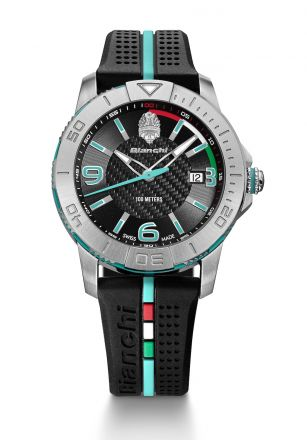 Bianchi Swiss Made - Three Hands 38mm - negro