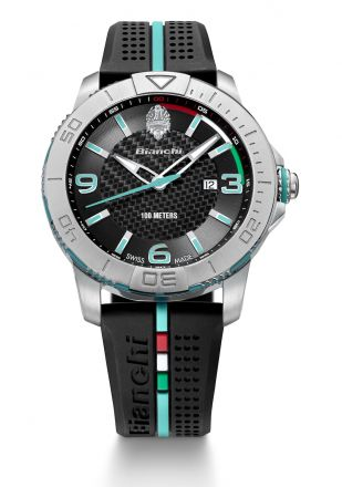 Bianchi Swiss Made - Three Hands 43mm - negro