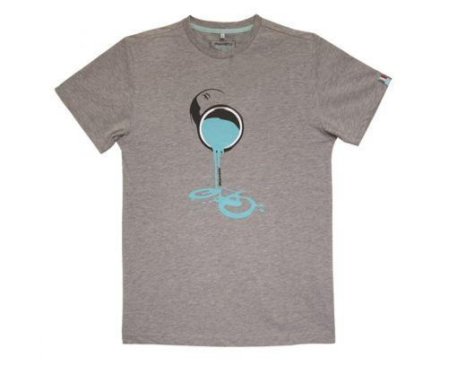 Bianchi T-Shirt Tin - grau/melange