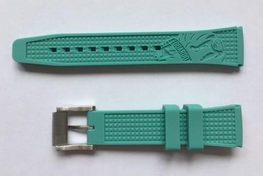 Bianchi Uhrenband Uni 38mm - celeste