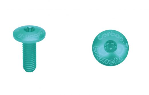 Bianchi Carbon Screw TI Torx M5* 14mm - celeste