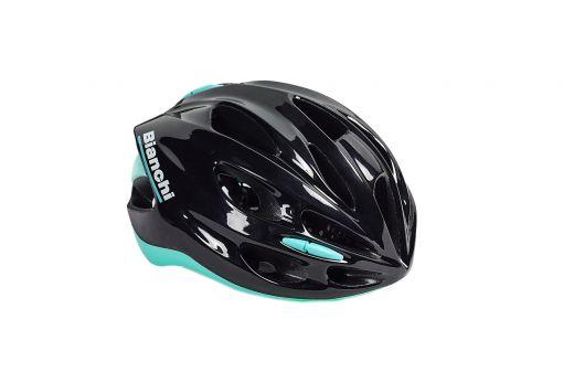 Bianchi Helm - Shake - schwarz