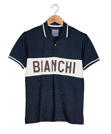 Bianchi L'EROICA Polo - Herren - Dunkel Blau