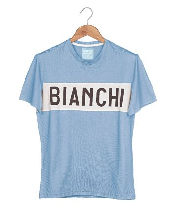 Bianchi L'EROICA T-shirt - Herren - Hellblau