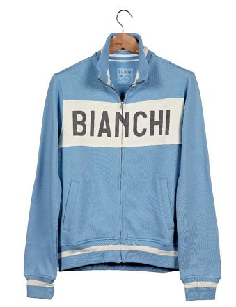 Bianchi L'EROICA Sweatshirt - Gent - Clear Blue