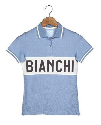 Bianchi L'EROICA Polo - Lady - Clear Blue