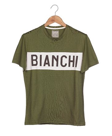 Bianchi L'EROICA T-shirt - Gent - Military Green