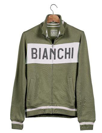 Bianchi L'EROICA Sweatshirt - Gent - Military Green