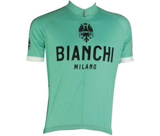 Bianchi Milano - PRIDE Short Sleeve Jersey - celeste