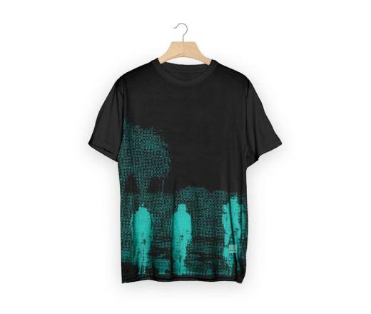 Bianchi T-Shirt - California Close Up - black