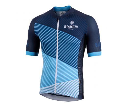 Bianchi Milano - BISCEGLIE Short Sleeve Jersey - blue