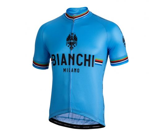 Bianchi Milano - NEW PRIDE short sleeve Jersey - blue