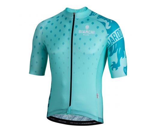 Bianchi Milano - SAVIGNANO Short Sleeve Jersey - celeste