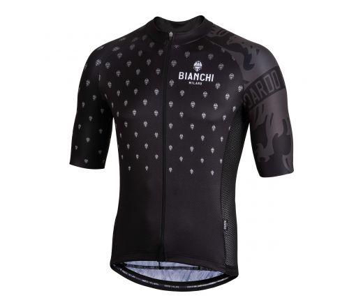 Bianchi Milano - SAVIGNANO Short Sleeve Jersey - black