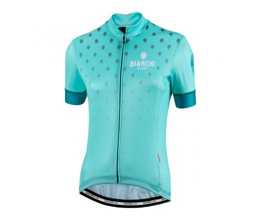 Bianchi Milano - ISCA - short sleeved Jersey - Lady - celeste