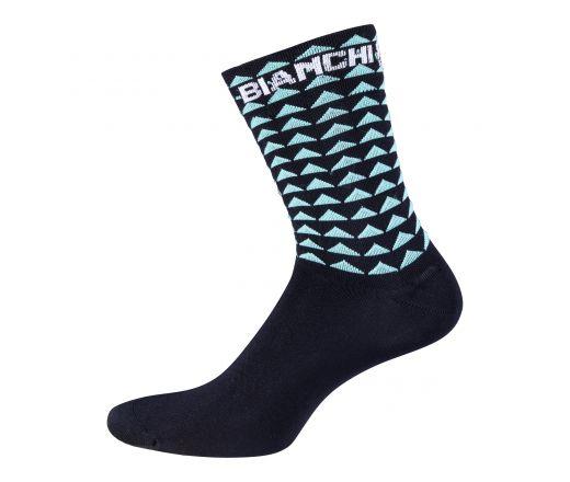 Bianchi Milano - BOLCA Socks - black/celeste