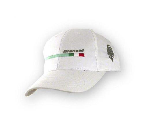 Bianchi Baseball Cotton Cap - white