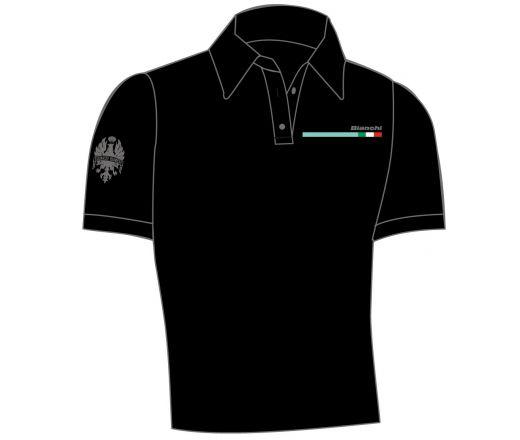 Bianchi Polo Shirt man black