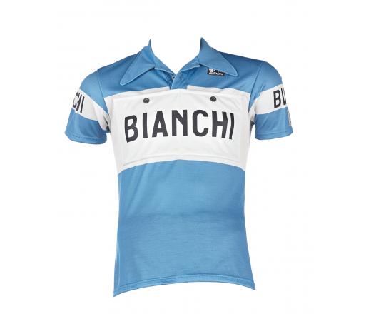 Bianchi L'Eroica - Short Sleeve Jersey Merino