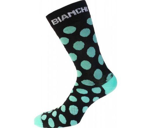 Bianchi Milano - BOLCA Socks - celeste dotted