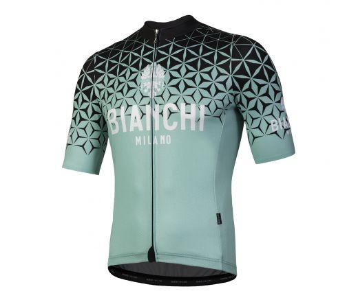 Bianchi Milano - CONCA Short Sleeve Jersey - celeste