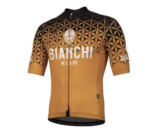 Bianchi Milano - CONCA Short Sleeve Jersey - orange
