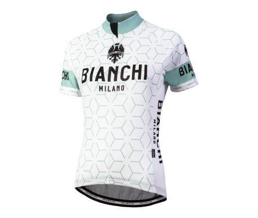 Kopie von Bianchi Milano - NEVOLA Short Sleeve Jersey Lady - white/celeste