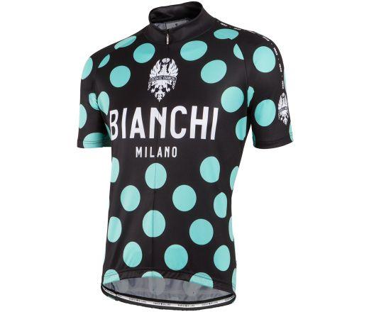 Bianchi Milano - PRIDE Short Sleeve Jersey - black/celeste