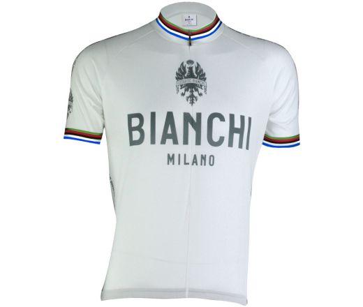 Bianchi Milano - PRIDE Short Sleeve Jersey - white